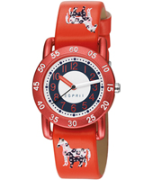 ES102764011 Free Spirit 30mm Red Girl's Watch with Horse Print