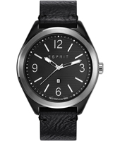 ES108371004 Jeremy 44mm Black Gents Watch with Date