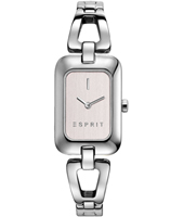 ES108512001 Narelle 20.60mm Silver Square Ladies Watch