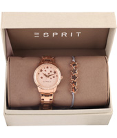 ES109352003 Season Special 34mm Rose gold ladies quartz watch with gift set