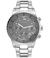 ES108231001 Theon Steel chronograph with grey dial