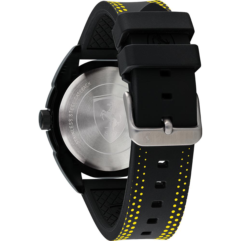 ferrari presentwatch yellow dial steel com panerai mm chronograph watch