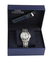 F16170/1 Gift Set 40mm Watch with Extra Leather Strap