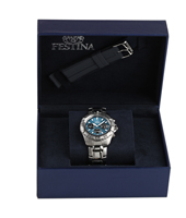 F16635/2 Gift Set 40mm Chronograph with Extra Rubber Strap