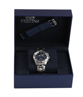 F16635/3 Gift Set 40mm Chronograph with Extra Rubber Strap