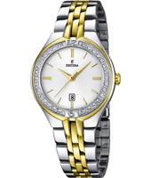 F16868/1 Mademoiselle 32mm Elegant two tone ladies quartz watch