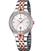 F16868/2 Mademoiselle Elegant bicolor rose ladies quartz watch