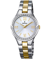 F16918/1 Mademoiselle 32mm Bicolor Ladies Watch with Crystals
