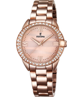F16920/2 Mademoiselle 33mm Rose Gold Ladies Watch with MOP Dial