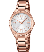 F16922/1 Mademoiselle 34mm Rose Gold Ladies Quartz Watch