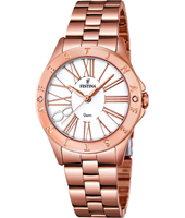 F16926/1 Mademoiselle 34mm Rose Gold Ladies Quartz Watch