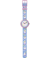 FBNP063 Cute Owls Swiss Made Girls Watch