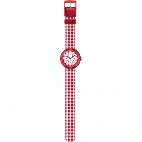 Flik Flak Gingham Watch