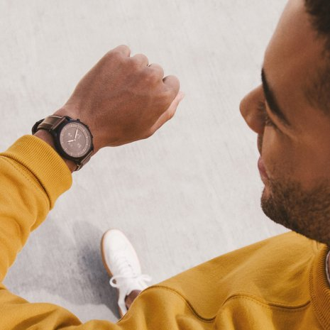 Hybrid Smartwatch with E-ink display Spring and Summer Collection Fossil