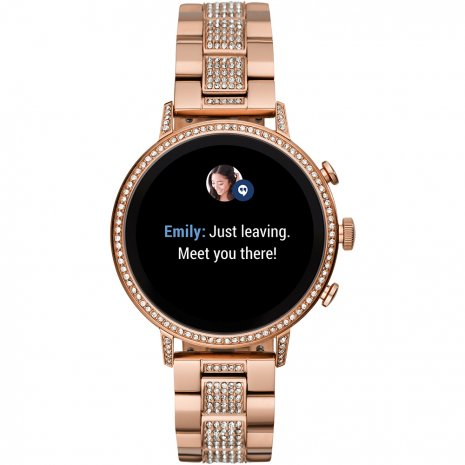 Touchscreen Smartwatch with Stainless Steel Bracelet - Gen4 Autumn and Winter Collection Fossil