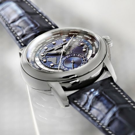 Frederique Constant Watch Blue