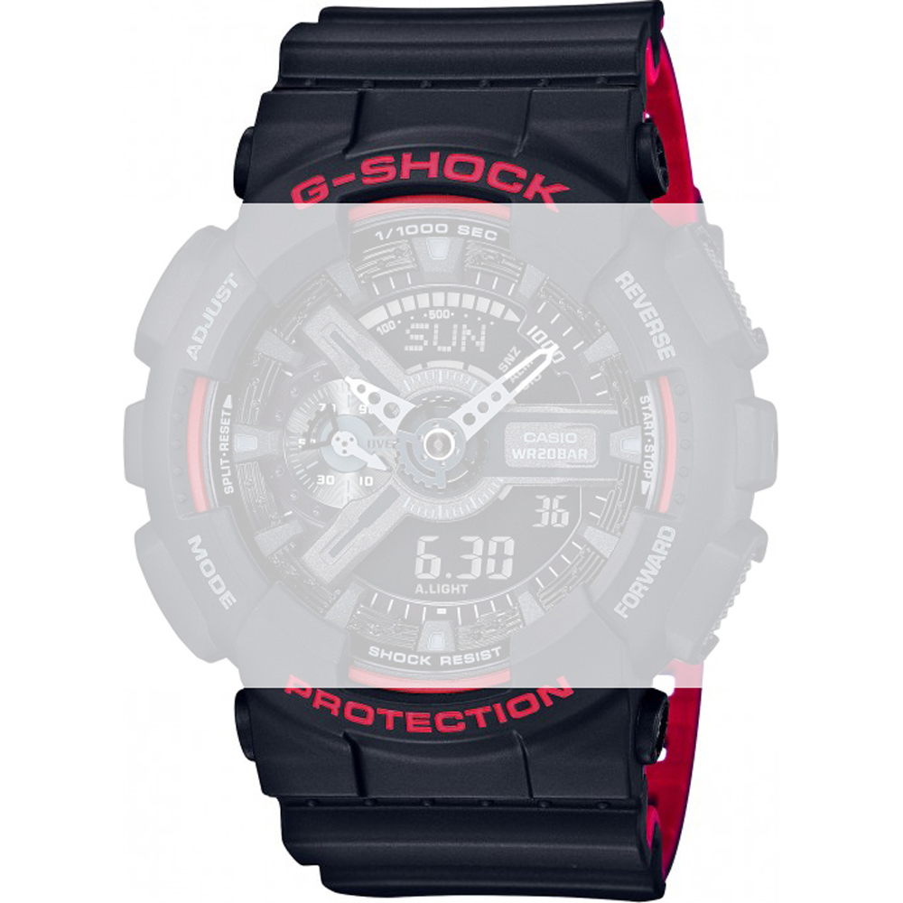 G Shock Strap 10532291 Official Dealer Casio Ga 110hr 1adr