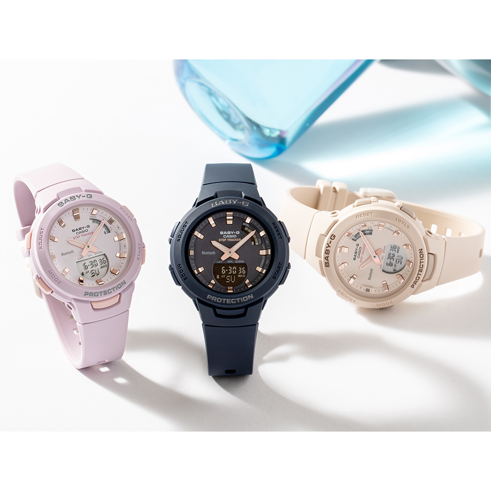 8f4d072cb5a Step Counter Ladies Smartphone Link Functions Watch Autumn and Winter  Collection G-Shock