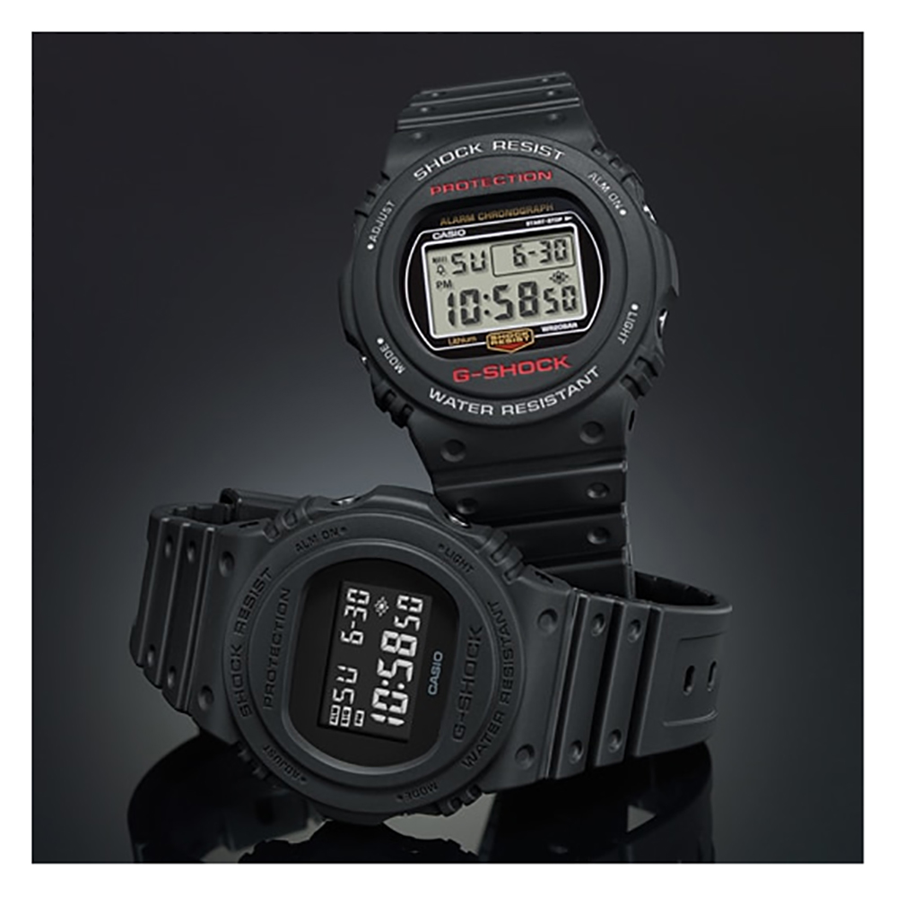 a25240dd0187 Black Digital G-Shock Watch Spring and Summer Collection G-Shock
