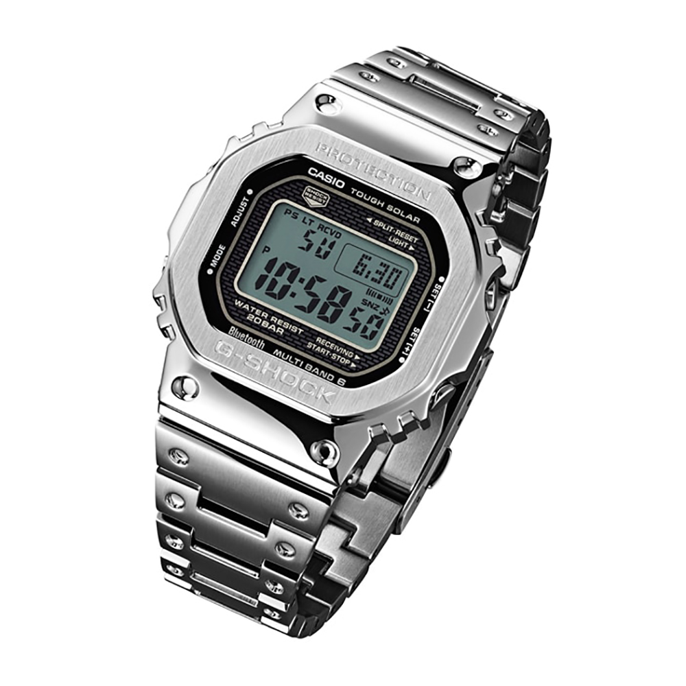 ce7cad370 All Steel Digital Watch with Smartphone Link Spring and Summer Collection G- Shock
