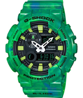GAX-100MB-3AER G-Lide Special Color 51.20mm Big Green Ana-Digi G-Shock Watch