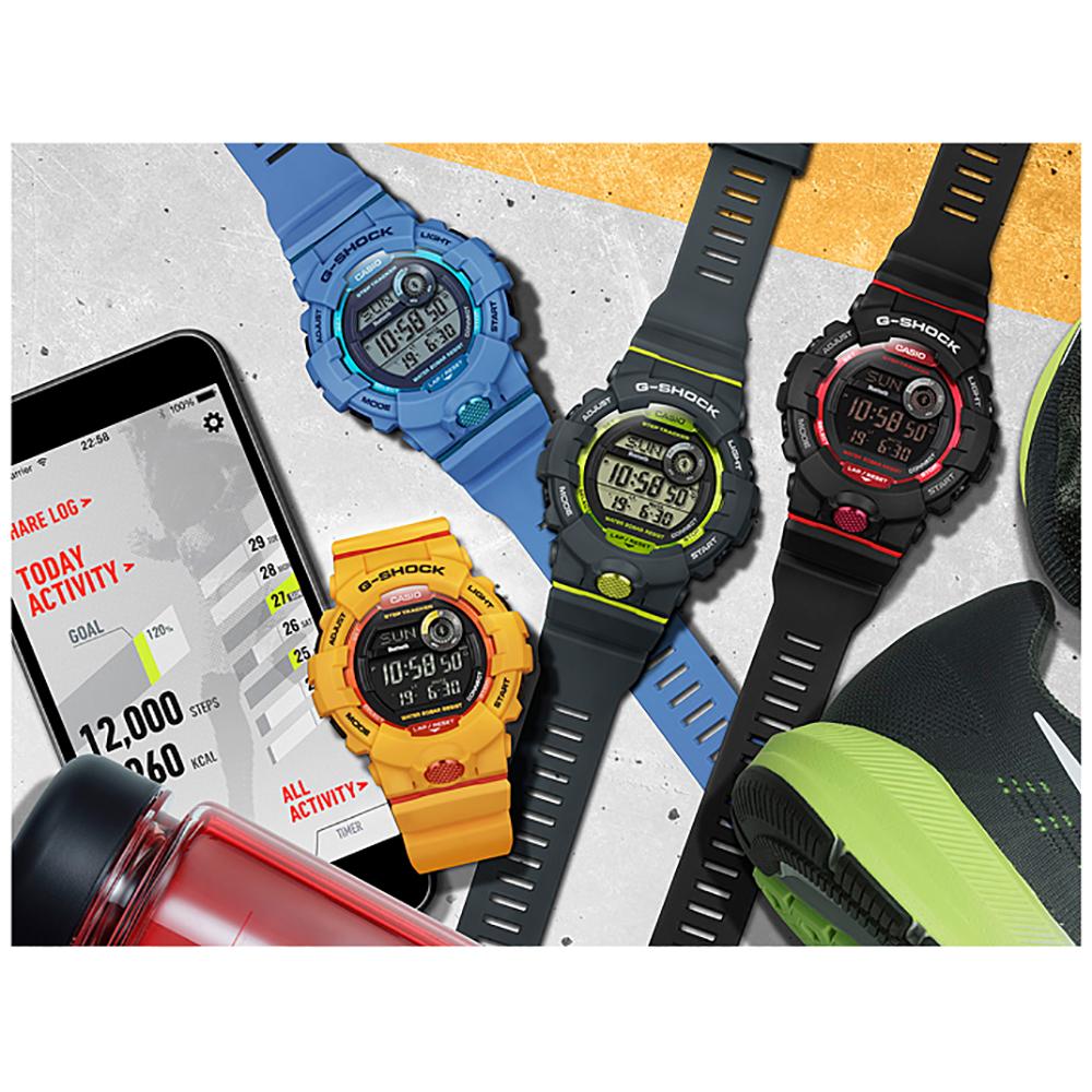 fddfebc87 G-Shock Classic Style GBD-800-4 G-Squad Bluetooth Watch • EAN ...