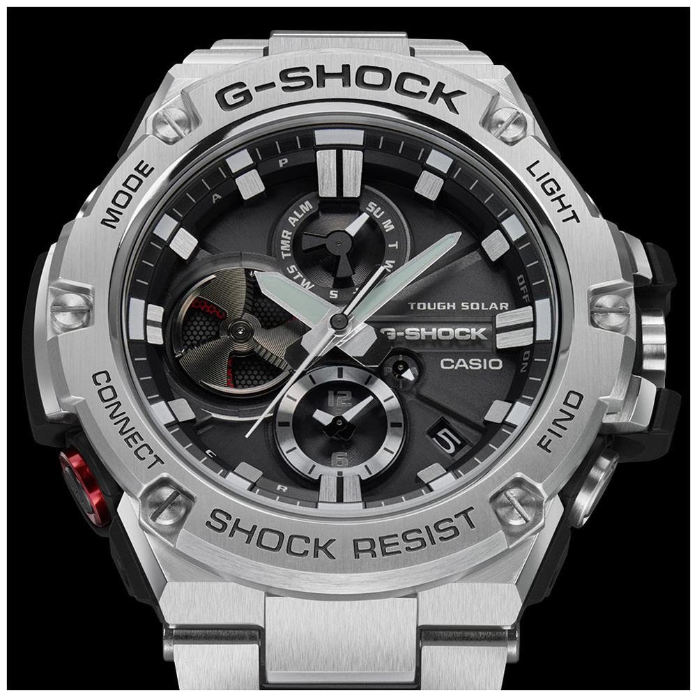 61cff24c2f7 G-Shock Watch 2017. G-Shock Watch Black. Watch Black Solar. Steel Gents Smartphone  Link ...