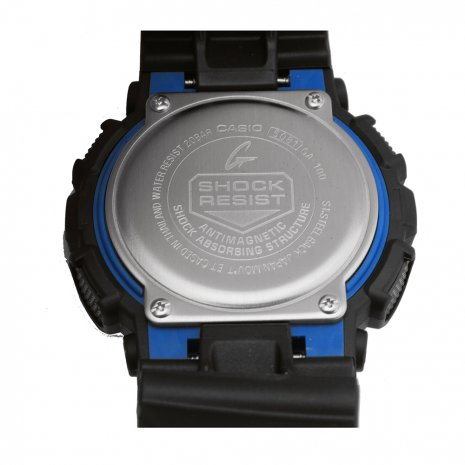 Big Black & Blue Ana-Digi G-Shock Watch  G-Shock