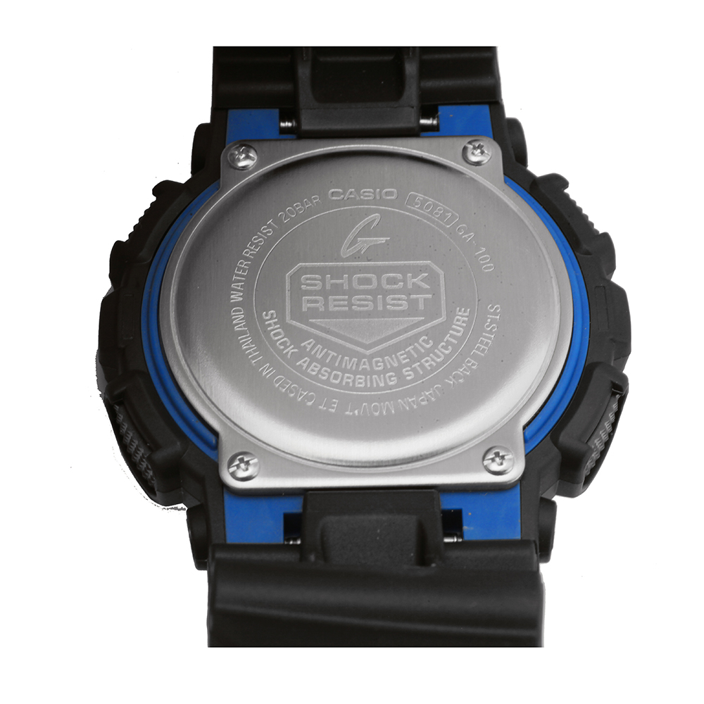28532a54059d3 G-Shock Classic Style GA-100-1A2ER GA-100-1A2 Watch • EAN ...
