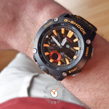 Bhutan traditional pattern G-Shock with extra strap Autumn and Winter Collection G-Shock