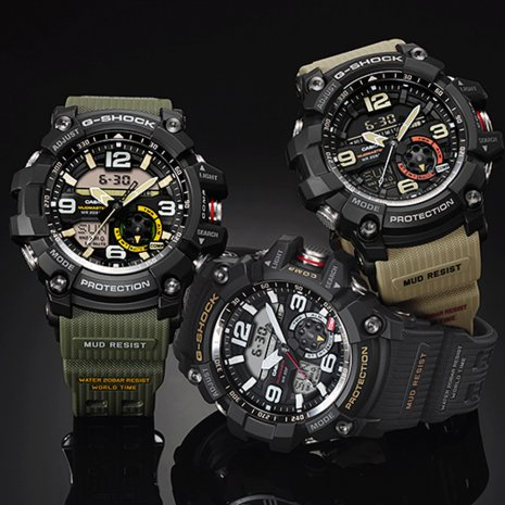 Twin Sensor Outdoor Watch Spring and Summer Collection G-Shock