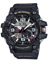 GG-1000-1AER Mudmaster 55.30mm Twin Sensor Outdoor Watch