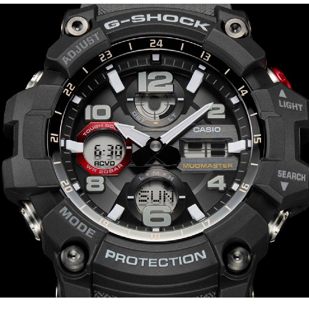 G Shock Master Of Gwg 100 1a8er Mudmaster Watch Ean Gshock Black Solar