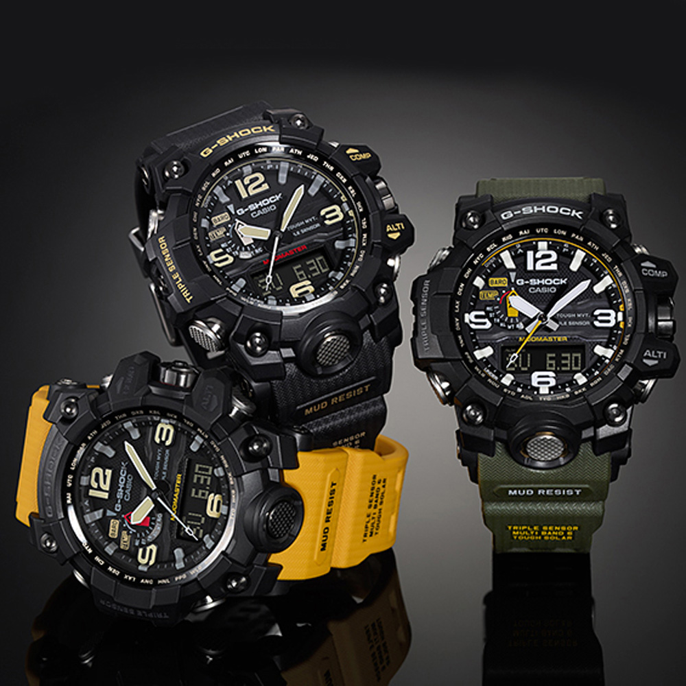 0195bfe021b G-Shock Master of G GWG-1000-1A3ER Mudmaster Watch • EAN ...