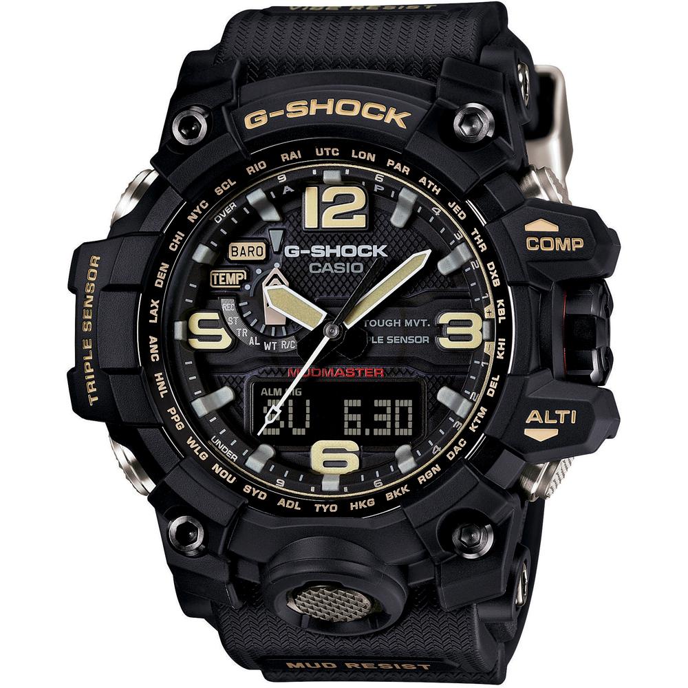 c2ebf630f10 G-Shock Master of G GWG-1000-1A3ER Mudmaster Watch • EAN ...