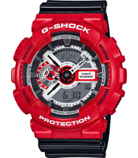 GA-110RD-4AER Solid Red 51.20mm