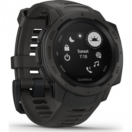 Robust GPS Smartwatch Graphite Spring and Summer Collection Garmin