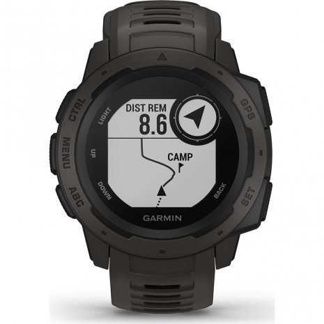 Garmin Watch Black