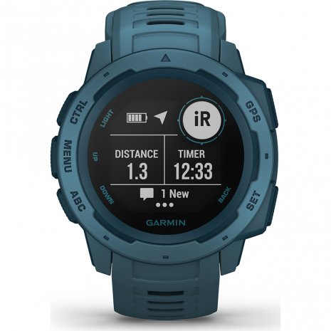 Garmin Watch Blue