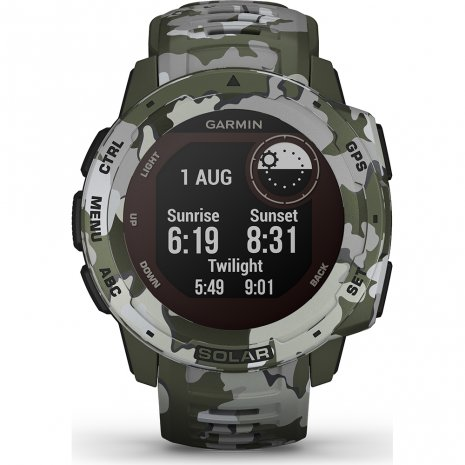 Rugged solar GPS outdoor smartwatch Spring and Summer Collection Garmin