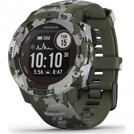 Garmin Instinct Solar Lichen Camo Watch