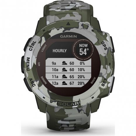 Garmin Watch Green