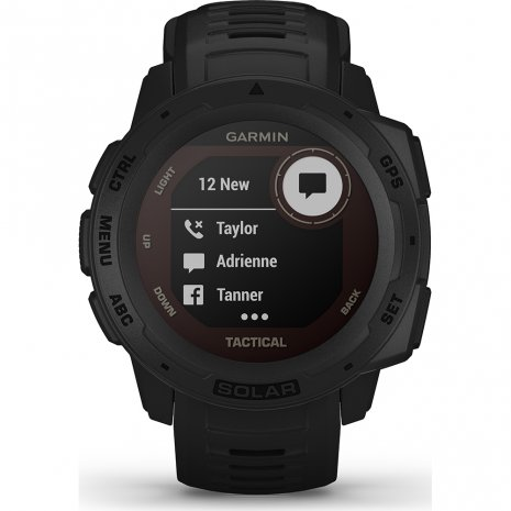 Solar GPS outdoor smartwatch with military functions Spring and Summer Collection Garmin