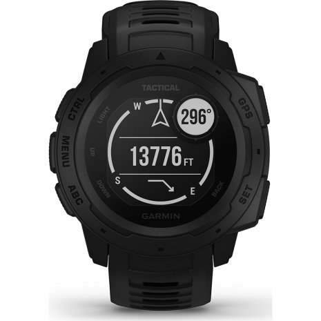 Robust GPS Smartwatch Black Spring and Summer Collection Garmin