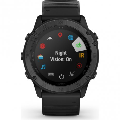 Tactical outdoor GPS smartwatch with stealth functionality Spring and Summer Collection Garmin
