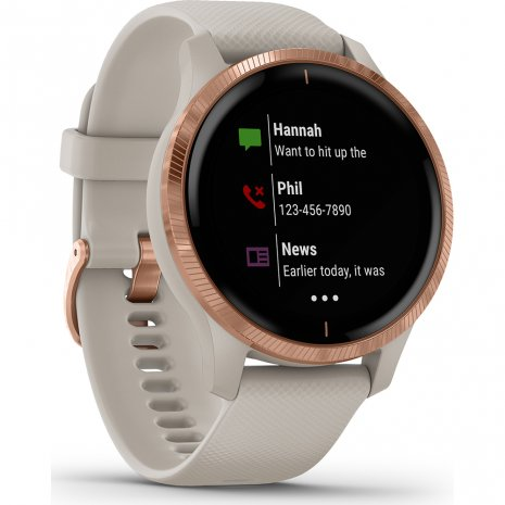 GPS Smartwatch with AMOLED screen Spring and Summer Collection Garmin