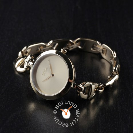 Ladies quartz watch wth chain-link bracelet Spring and Summer Collection Hugo Boss