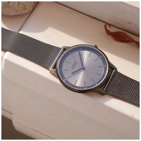 Thin lightweight mens watch Autumn and Winter Collection Hugo