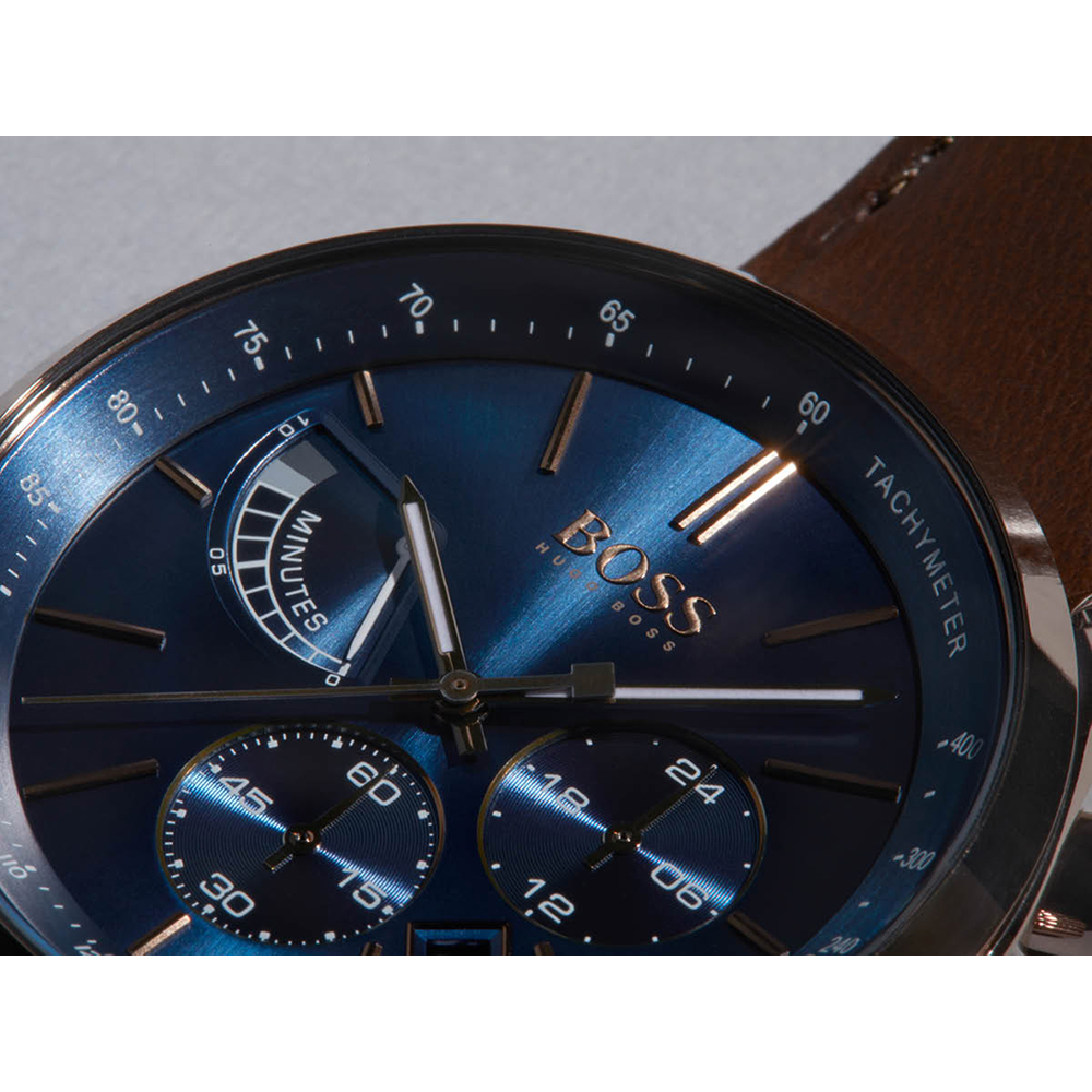 5b2077892 Gents Chronograph and Tachymeter Watch with Date Autumn and Winter  Collection Hugo BOSS