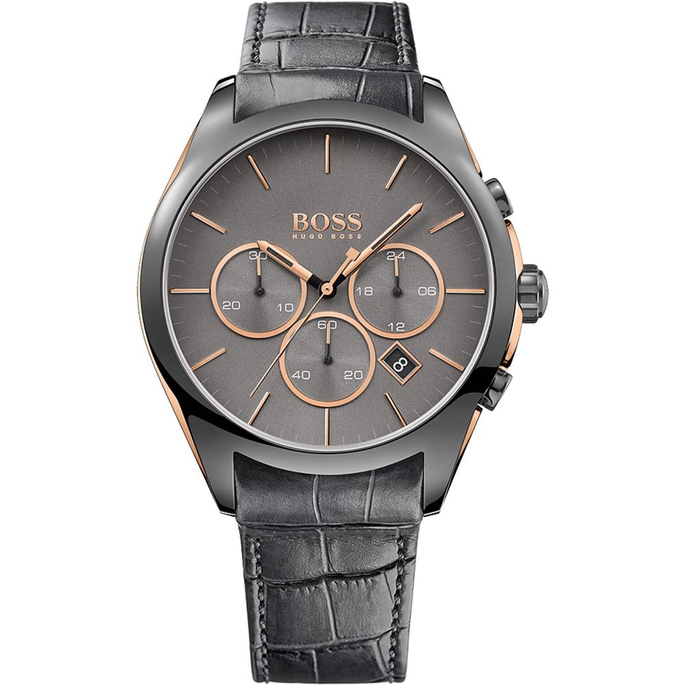 hugo boss 1513366 watch onyx. Black Bedroom Furniture Sets. Home Design Ideas